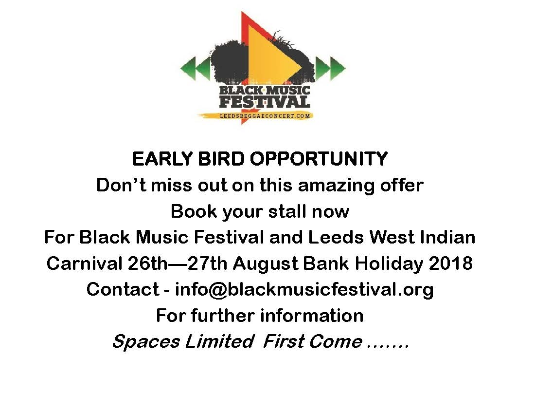 early bird flyer 2018